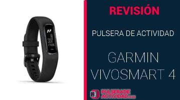Pulsera de Actividad Garmin Vivosmart 4