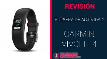 Pulsera de Actividad Garmin Vivofit 4
