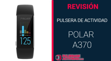 Pulsera de Actividad Polar a370