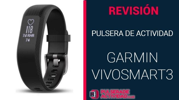 Pulsera de Actividad Garmin Vivosmart 3