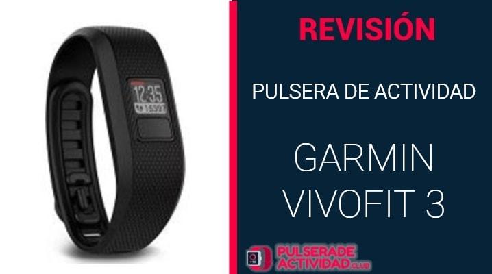Pulsera de Actividad Garmin Vivofit 3