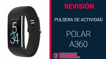 Pulsera de Actividad Polar A360